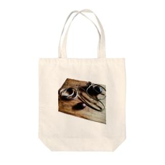 珈琲の輪 Tote bags