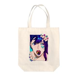 help me Tote bags
