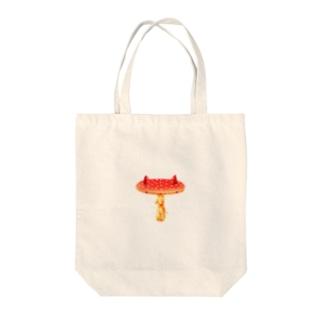 ネきのコ Tote bags