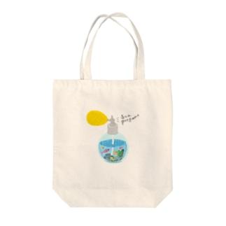 sea perfume Tote bags