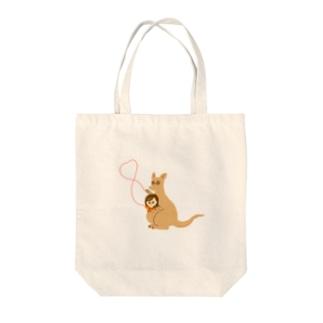 親子の愛 Tote bags