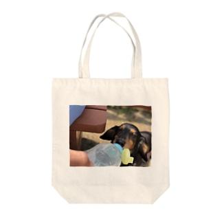 リンちゃん Tote bags