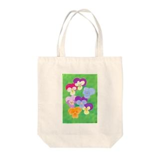 ビオラ Tote bags