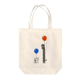 のびるねこ Tote bags