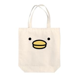うるせぇトリ(顔のドアップ) Tote bags
