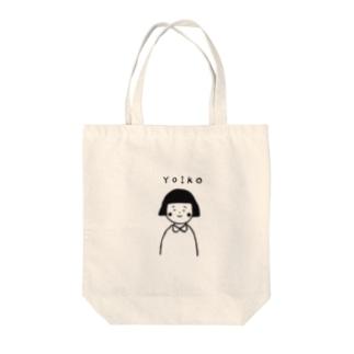 よいこちゃん Tote bags