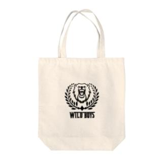 WILD BOYS Tote bags
