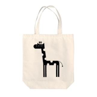 ANIMALシリーズ きりん Tote bags