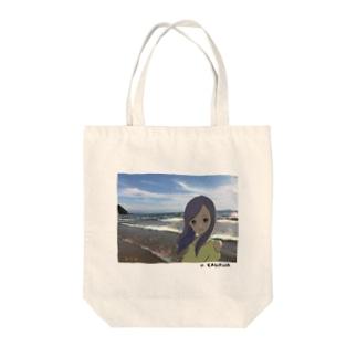 Beach Girl Photo Tote bags