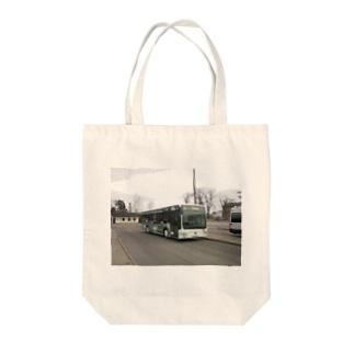 バス 休憩中 Pause Tote bags