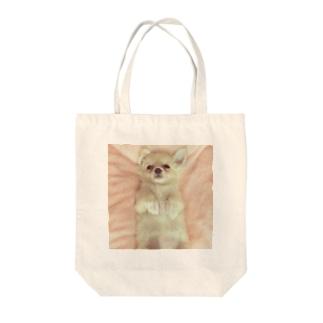 チワワのマリー Tote bags
