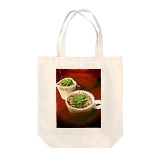 多肉植物♡マクドガリー Tote bags