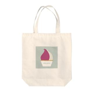 #28 「milky gelato」~上尾市~ Tote bags