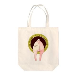 おしりちゃん Tote bags