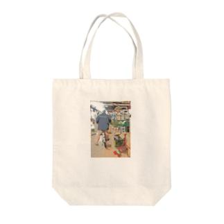 地下生鮮食品街 Tote bags