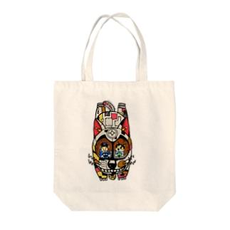 ジュブナイル Tote bags