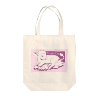 Angelic Calf ピンク Tote bags