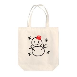 雪だるまちゃん Tote bags