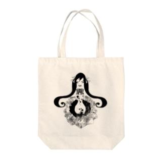 twin β Tote bags