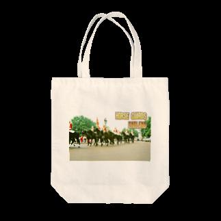 FUCHSGOLDのイギリス:王室騎兵(近衛騎兵) England: Horse Guards Tote bags