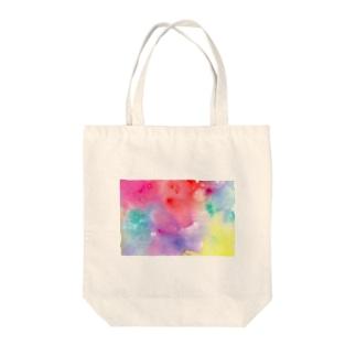 ジワジワ Tote bags