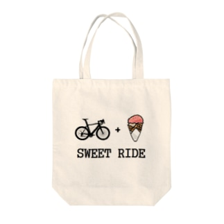 SWEET RIDE! Tote bags