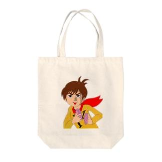 チャー研キチ貝 Tote bags