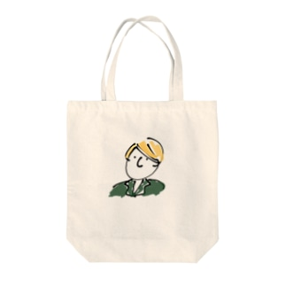 ドイツくん Tote bags