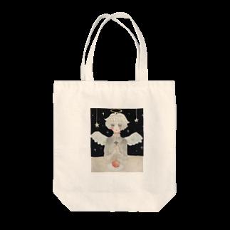 猫村さん🌿の天使くん Tote bags