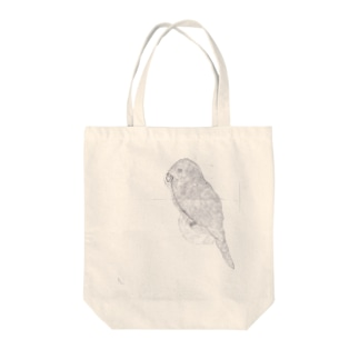 小4ちゃんのインコ Tote bags