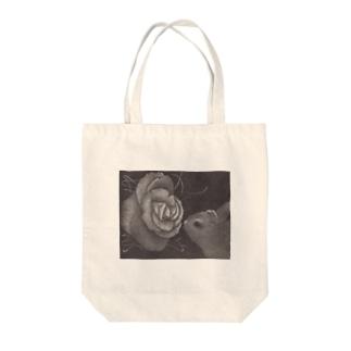 遠い記憶 -伝言- Tote bags