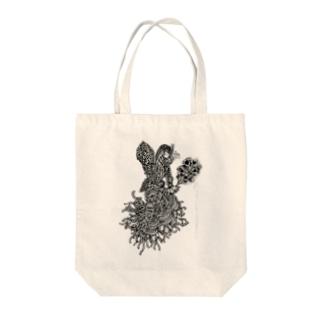 フェアリーダスト Tote bags
