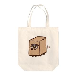 おしゃべりネコちゃんず かみぶくろVer. Tote bags