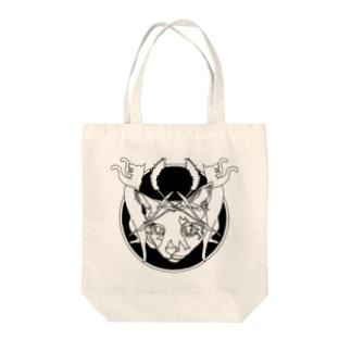 ネコ派 Tote bags