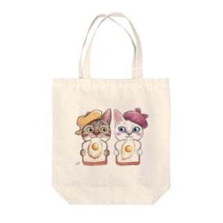りんちゃんとラピュタパンなう Tote bags