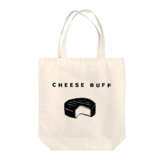 CHEESE BUFF<チーズ愛好家> Tote bags