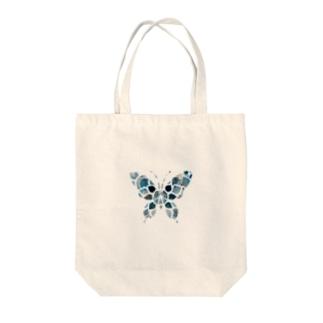 デザイン蝶々 Tote bags