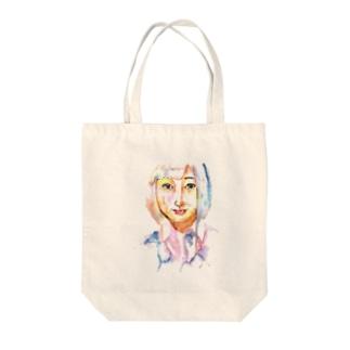 シシカバぐっずの女子高生 Tote bags