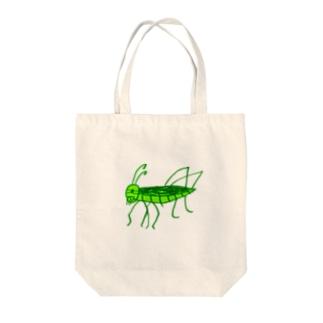 トノサマバッタ Tote bags