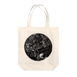 HAROWORKS/PSY/1c (LMT3) Tote bags