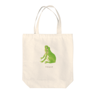 haruのアマガエル Tote bags