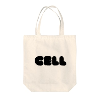 CELL Tote bags