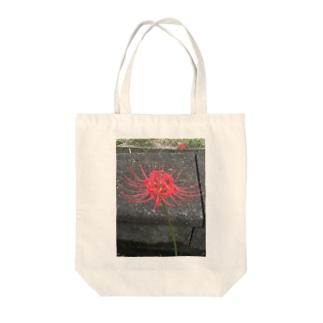 彼岸花のトートバッグ Tote bags