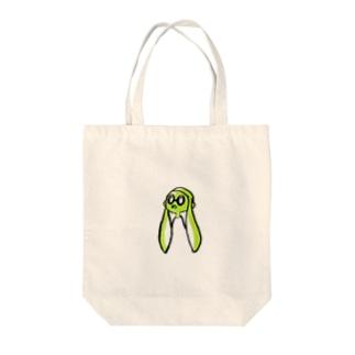 イカよろしく Tote bags