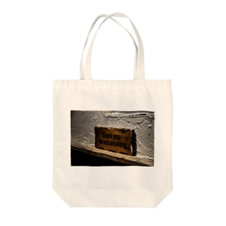 Thank you for not smoking. Tote bags