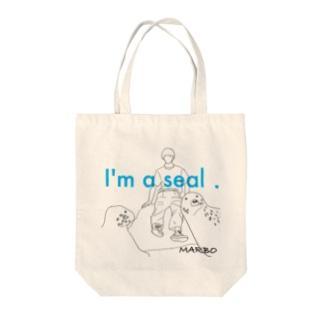アザラシの覇者 Tote bags