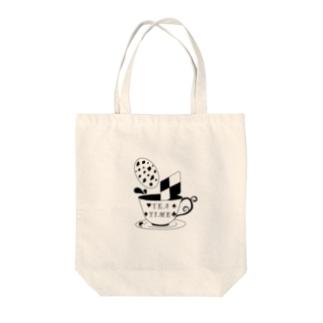お茶会 Tote bags