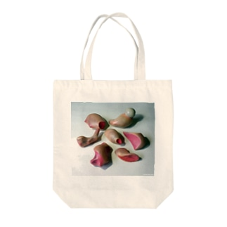 スキンシップシリーズ Tote bags