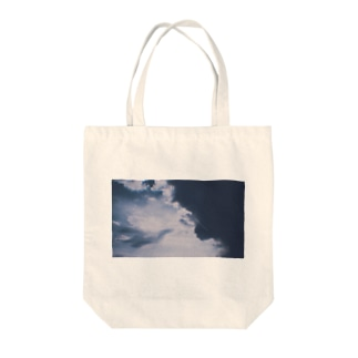 青に影 Tote bags
