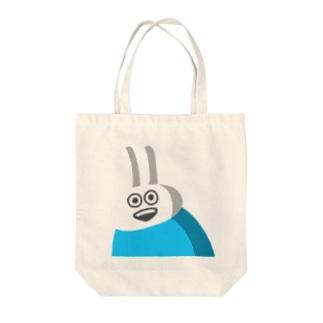 STUDYのショップのウザギさん Tote bags